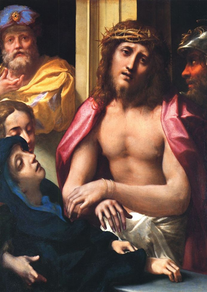 Correggio, Antonio Allegri: Christ Presented to the People (Ecce Homo). Fine Art Print.  (001789)